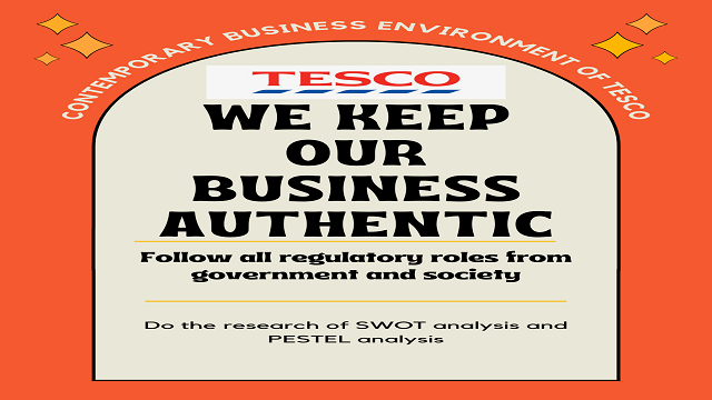 Contemporary Business Environment of TESCO