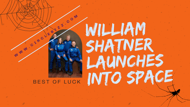 William Shatner Launches into Space
